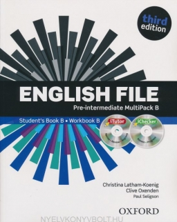 English File 3rd Edition Pre-Intermediate Multipack B