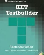 KET Testbuilder - Tests that Teach with Audio CDs