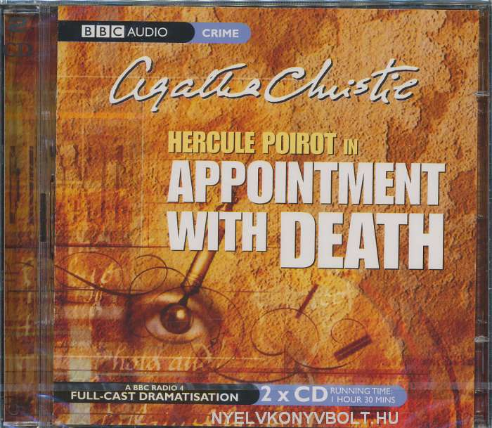 Agatha Christie: Hercule Poirot in Appointment with Death - Audiobook CD