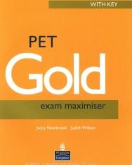 PET Gold Exam Maximiser with Key