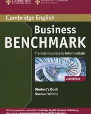 Business Benchmark Pre-Intermediate to Intermediate 2nd Edition - BEC Preliminary Edition Student's Book