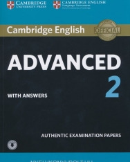 Cambridge English Advanced 2 with Answers and Online Dowloadable Audio - For Revised exam from 2015