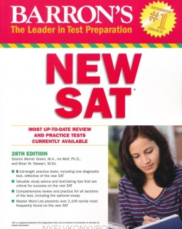 Barron's New SAT 28th Edition