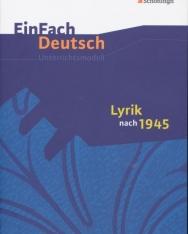 EinFach Deutsch Unterrichtsmodelle: Lyrik nach 1945