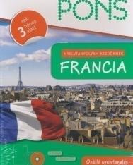 Pons Nyelvtanfolyam kezdőknek Francia (1 könyv + 4 Audio CD)