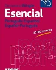 Diccionario Bilingüe Esencial Portugués-Espanhol, Espanol-Portugués