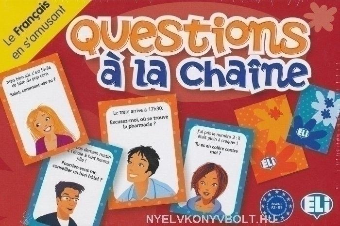 Questions á la Chaine - Le Francais en s'amusant (Társasjáték)