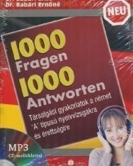 1000 Fragen & Antworten - 1000 kérdés és válasz németül MP3-CD melléklettel