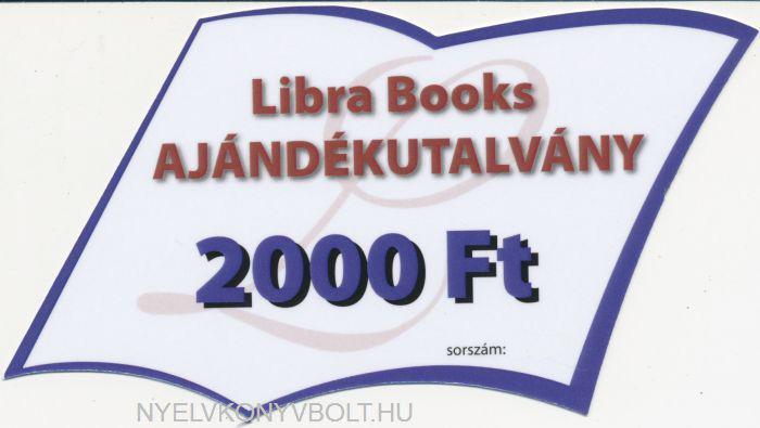 Ajándékutalvány 2000 Ft
