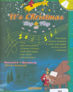 It's Christmas Sing & Play - CD melléklettel