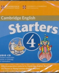 Cambridge Young Learners English Tests Starters 4 Audio CD