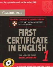 Cambridge First Certificate in English 1 Official Examination Past Papers Student's Book with Answers for Updated Exam 2008 (Practice Tests)