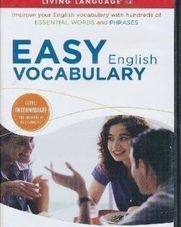 Living Language - Easy English Vocabulary  Intermediate Level 2 Audio CDs