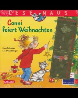 LESEMAUS 58: Conni feiert Weihnachten: Mit tollen Geschenkaufklebern