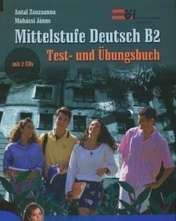 Mittelstufe Deutsch B2 Test- und Übungsbuch mit 2 CDs