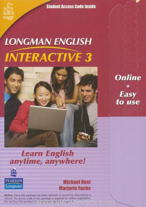 Longman English Interactive 3 British English Online Code Card