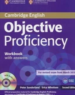 Objective Proficiency 2nd Edition Workbook with Answers with audio CD