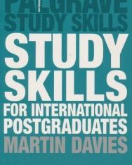 Study Skills for International Postgraduates - Palgrave Study Skills