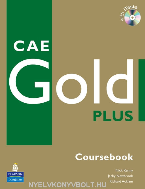 CAE Gold Plus Coursebook with iTests CD-ROM