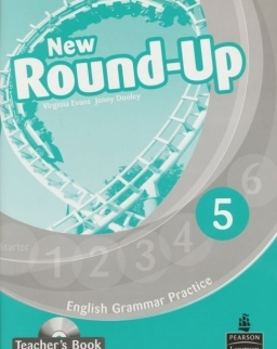 New Round-Up 5 Teacher's Book with Audio CD