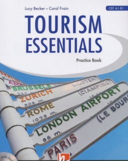 Tourism Essential Practice Book with audio CD A1-B-