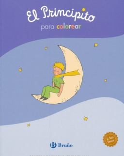 El Principito para colorear (Castellano - A Partir De 3 Anos - Personajes - El Principito)