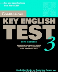 Cambridge Key English Test 3 Official Examination Past Papers 2nd Edition Student's Book with Answers and Audio CD Self-Study Pack