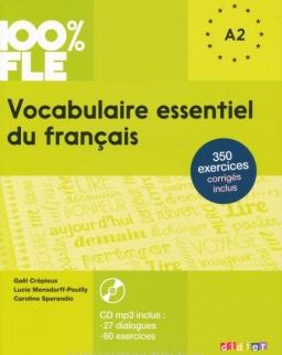 Vocabulaire essentiel du francais A1/A2 Livre avec CD Audio MP3 - 100 % FLE