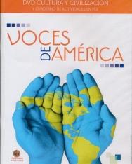 Voces de América DVD + cuaderno de ejercicios en PDF