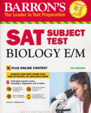 Barron's SAT Subject Test Biology E/M, 6th Edition
