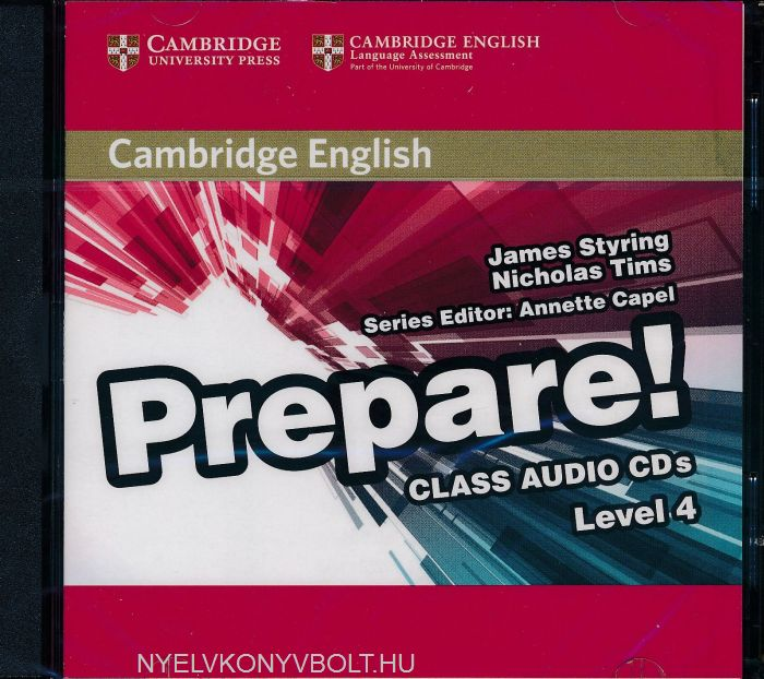 Cambridge English Prepare! Class Audio CDs Level 4