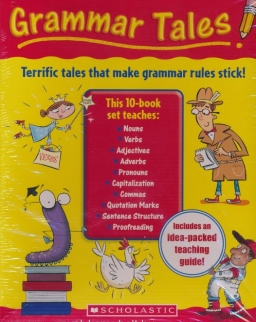 Grammar Tales Box Set - A Rib-Tickling Collection of Read-Aloud Books That Teach 10 Essential Rules of Usage and Mechanics with Teaching Guide