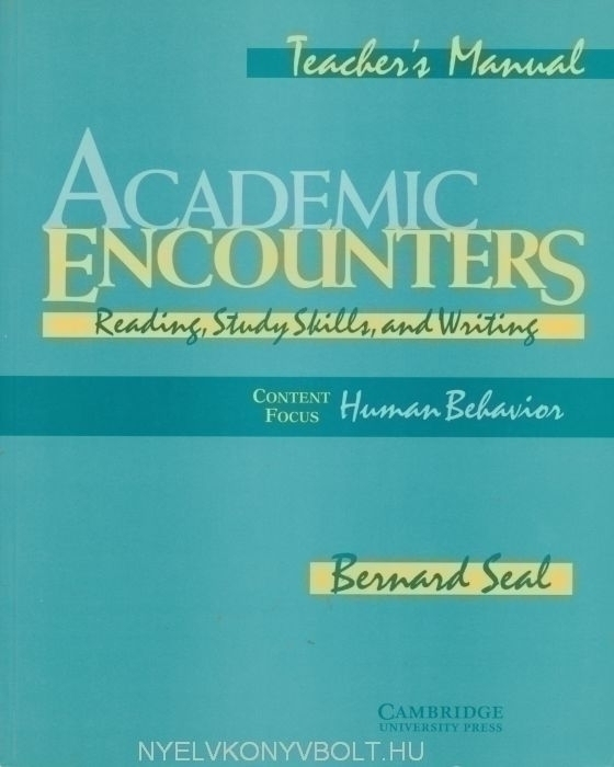 Academic Encounters - Human Behavior Teacher's Manual