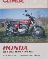 Honda 250-360cc Twins 1974-1977 - Maintenance - Troubleshooting - Repair