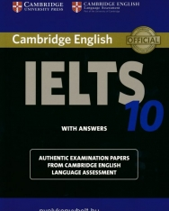 Cambridge IELTS 10 Official Examination Past Papers Student's Book with Answers
