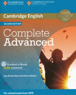 Complete Advanced Second edition Student's Book with answers with CD-ROM