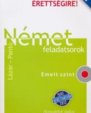 Készüljünk az új érettségire! Német feladatsorok Emelt szint CD-melléklettel (Lázár-Pantó)