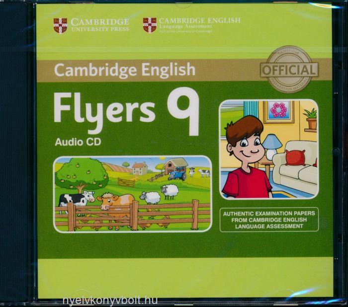 Cambridge English Flyers 9 Audio CD