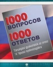 1000 Vaproszov & Otvetov - 1000 kérdés és válasz oroszul