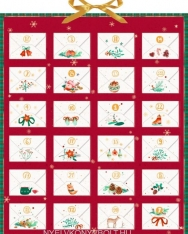 Zettelkalender - Weihnachtspost für dich! - Durch den Advent mit Ringelnatz, Rilke, Morgenstern & Goethe