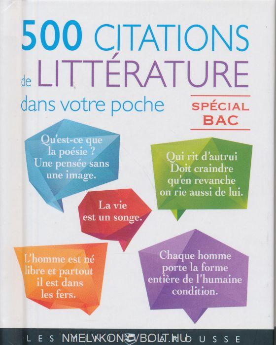 500 citations de francais dans votre poche