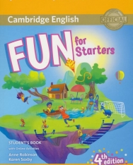 Fun for Starters 4th Edition Student's Book with Online Activities with Audio