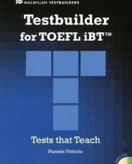 Testbuilder for TOEFL iBT with Audio CDs (2) - Macmillan Testbuilders