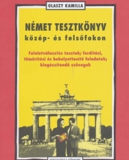 Német tesztkönyv közép- és felsőfokon