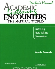 Academic Listening Encounters - The Natural World Teacher's Manual