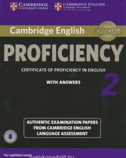 Cambridge English Proficiency 2 Student's Book with Answers and Audio
