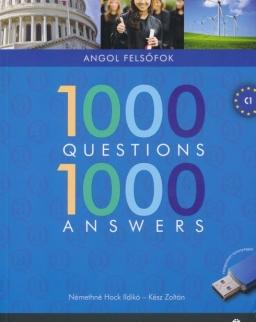 1000 Questions & Answers - 1000 kérdés és válasz angolul felsőfok + ingyenesen letölthető interaktív hanganyag