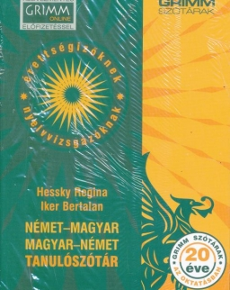 Német-magyar | Magyar-német tanulószótár - 6., javított és bővített kiadás (MX-1311)