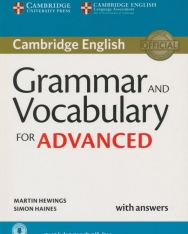 Cambridge English Grammar and Vocabulary for Advanced with answers + Downloadable Audio and Online resources