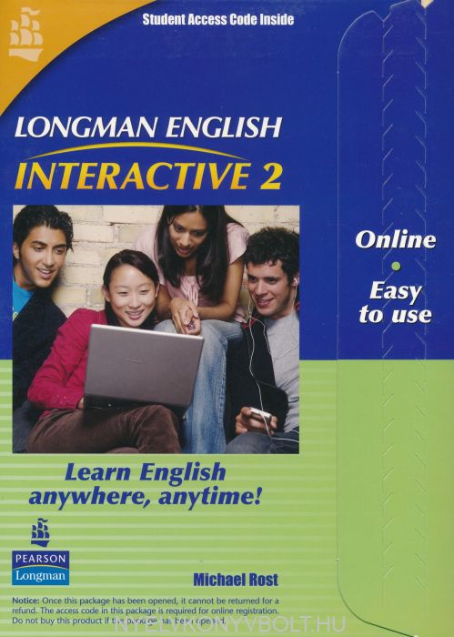 Longman English Interactive 2 British English Online Code Card